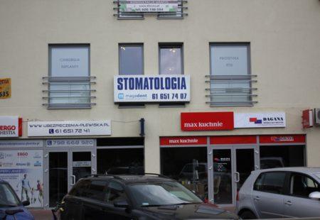 Widok na praktykęod ulicy Grunwaldzkiej